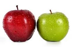 apple to apple