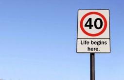Life begin at 40